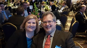 Dave Denzel and Wife at Plastics in Automotive Conference